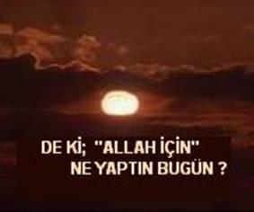 As�m Y�ld�r�m Allah ��in Sevmek adl� yaz�y� okuyor..